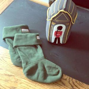 Hunter Wellie socks for kids
